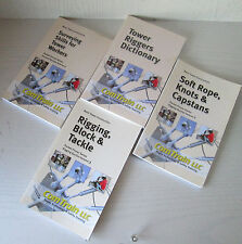 Lot Of Tower Climbing Safety Gear Books Comtrain Rigging Knots Etc.