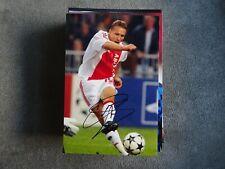 WESLEY SONCK - AJAX AMSTERDAM & BELGIUM - 10x15cm PHOTO ORIGINAL SIGNED