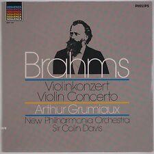 BRAHMS: Violin Concert PHILIPS Sequenza 6527 197 Grumiaux IMPORT LP NM