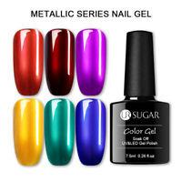 UR SUGAR 7.5ml Gel Polish Mirror Metallic Soak Off Shining Nail UV Gel Varnish