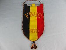 FANION PENNANT ICE HOCKEY GLACE F.B.H.G 1970 Belgique FRBHG ? WIMPEL BANDERIN