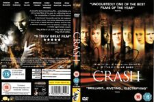 WILLIAM FICHTNER & PAUL HAGGIS AUTOGRAPH  SIGNED DVD (CRASH)  COA  55
