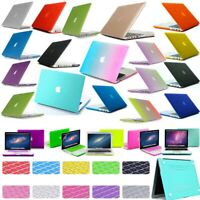 """Rubberized Hard Case keyboard Cover For New MacBook Air/Pro 13"""" 13.3"""" 2018 2019"""