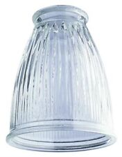 6-Pack Westinghouse 8147900 - 2-1/4-Inch Crystal Clear Pleated Glass Shade
