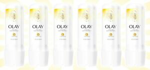 6 Olay In-Shower Rinse-Off Body Conditioner for Dry Skin w/ B3 + Shea Butter
