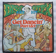 "7""  DISCO TEX AND HIS SEX-O-LETTES  **  GET DANCIN´  **       TOP - ZUSTAND"