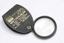 Meisel Photochrom eCorp Folding Pocket magnifier Promo item - HAZY USED X177