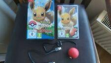Nintendo Switch Pokemon vamos a ir Eevee + Pokeball Plus en Caja Completa UK