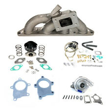 00-05 MITSUBISHI ECLIPSE 4 CYLINDER 4G64 CAST T3 MANIFOLD T3T4 TURBO CHARGER KIT