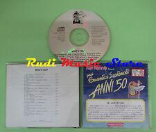 CD ROMANTICI SCATENATI 50 9B WHAT'D I SAY compilation 1994 ROBINS CHARLES (C39)