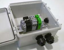 2-String Compact Solar Power Combiner Terminal Box