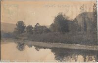 c1910 MIDDLEBURGH New York NY RPPC Postcard Schoharie River