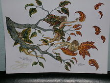 Amy Brown - The Leaves Are Turning - Limited Edition - SOLD OUT