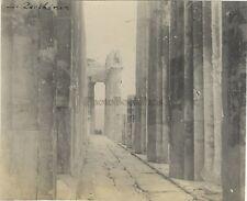 Le Parthénon Athènes Grèce Vintage argentique 1923