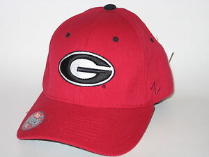 Georgia Bulldogs Officially Licensed Zephyr Z-fit Stretch Fit Hat / Cap FREE S&H