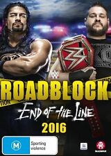 WWE - Roadblock 2016 (DVD, 2017)