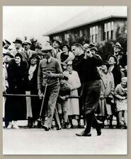 Bobby Jones and Horton Smith @ Pinehurst unsigned 11 x 14 Photograph Donald Ross
