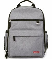 Skip Hop Duo Backpack Diaper Bag - Heather Grey - New with tags