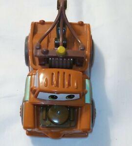 Disney Pixar Cars Tow Mater Push and Pull 2014 Jakks. Tested/Works -