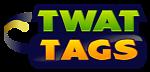 TwatTags - Funny rude joke stickers