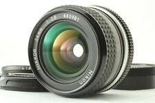 NIKON Ai NIKKOR 24mm F/2.8 w/ GENUINE FILTER L1Bc MF WIDE ANGLE LENS FROM JAPAN