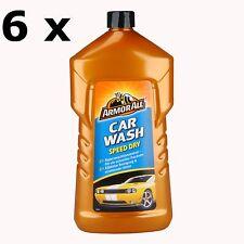 6 x Armor All Car Wash Speed Dry 1000ml - 27001L - Autowäsche Autoshampoo