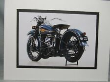 1938   Harley Davidson Model  WLD  in color   Motorcycle Archives