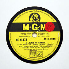 """JUDY GARLAND & FRED ASTAIRE """"A Couple Of Swells"""" M-G-M 173 [78 RPM]"""