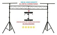 CEDARSLINK LK-X10 10' METAL PARTS DJ PORTABLE LIGHT LIGHTING T BAR STAND TRUSS