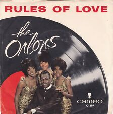 SOUL 45RPM - THE ORLONS ON CAMEO - RARE!  WITH ORIGINAL PICTURE SLEEVE!