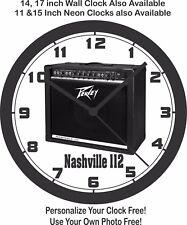 PEAVEY NASHVILLE 112 GUITAR AMP WALL CLOCK-FREE USA SHIP