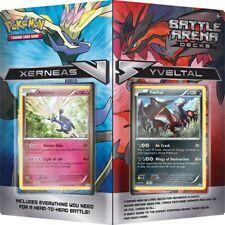 Pokemon XY Xerneas vs Yveltal 2-Player Battle Arena Decks