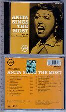 Anita O'Day , Anita Sings the Most   ( CD, U.S.A. )