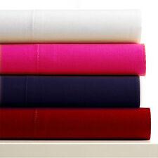 Drap plat 1 personne  en microfibre - rose vif - 90 x 190 cm