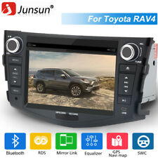 JUNSUN 7'' Car Stereo Radio GPS Navi For Toyota RAV4 2012-2006 CD DVD Bluetooth