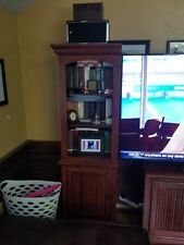 Ameriwood Home Carson TV Stand for TVS up to 50 Inches Wide Cherry/black.