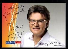 Peter Escher MDR Autogrammkarte Original Signiert# BC 45155