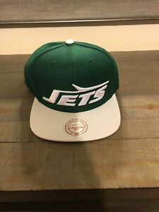 New York Jets Mitchell and Ness Snapback Hat