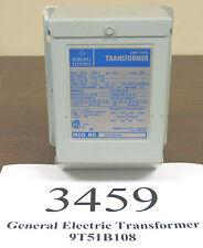 GE Model 9T51B108 Buck Boost 120x240 12/24 Transformer - Inventory #3459