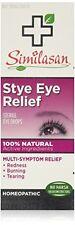 2 Pack Similasan Stye Eye Relief Sterile Eye Drops Homeopathic 0.33 Oz Each
