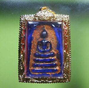 GORGEOUS SOMDEJ WANGRHANG OLD THAI BUDDHA AMULET VERY RARE !!!