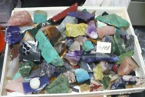 Edelstein ,Mineral  Rohstein -  Abschnitte - ca 4000 gr Nr  4008