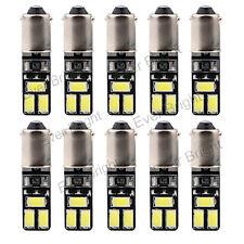 10Pcs Canbus No Error T4W T11 BA9S 5630 6SMD 6LED Led Interior light bulbs 12V