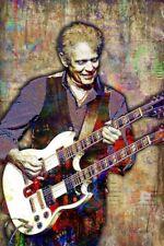 The Eagles Don Felder 12x18in Poster Don Felder Tribute Print Free Shipping Us