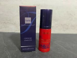 Tarte - Maracuja Cheek Tint - SHEER RED - 0.35oz - Full Size - New In Box #KJ