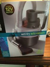 WET / DRY AUTO VACUUM by EMERSON, 12 VOLT MOTOR