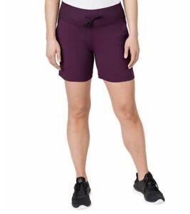 Women's Tuff Athletics Hybrid Shorts Cabernet XS New