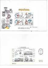 Spain: 1982; to 1994, Lot of 8 different Souvenirs Sheet, MNH. EBES086