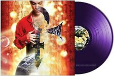 PRINCE LP Planet Earth PURPLE Vinyl 3-D Sleeve Limited Edition 2019