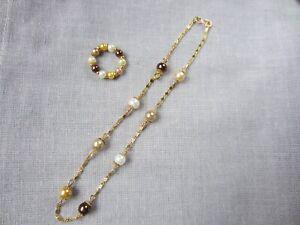 Parure de bijoux  pour poupée  chérie corolle 33 cm ou kinra girl .